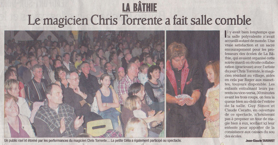 La Bathie - Chris Torrente