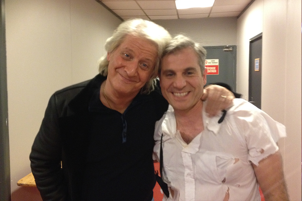 Avec Patrick Sébastien à L'émission Du Plus Grand Cabaret Du Monde